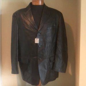 Lambskin Leather Sport Coat